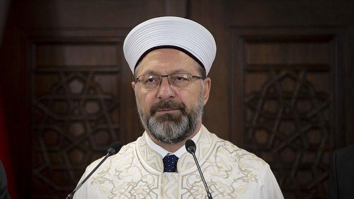 Ramazan'da camiler açık olacak mı? Diyanet İşleri Başkanı Erbaş'tan açıklama