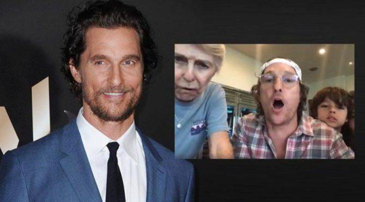 Matthew McConaughey, huzurevi sakinleriyle tombala oynadı