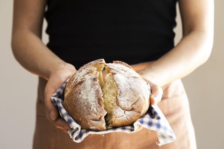 Salgından korunmak için evde ekmek yapmanın püf noktaları!