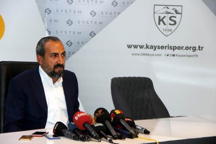 Kayserispor Asbaşkanı Mustafa Tokgöz: