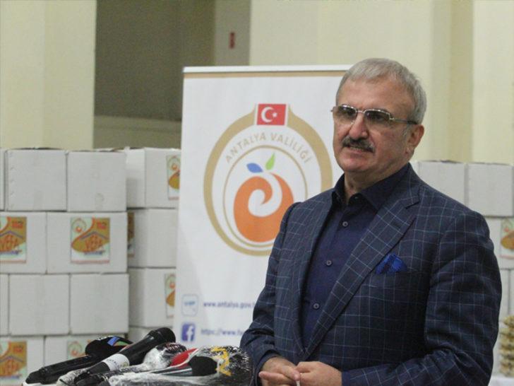 Antalya Valisi sosyal medya hesabından böyle paylaştı: İlginç olaylar yaşanıyor