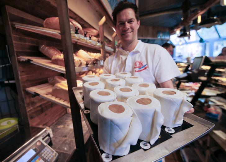 Koronavirüs temalı yiyeceklerle insanları gülümsetmeyi hedefleyen şefler