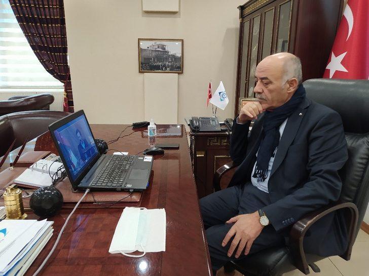"""TOBB'daki toplantıya video konferansla katılan Başkan Yücelik; """"Tüm sektörlerin kapsama alınmasını bekliyoruz"""""""