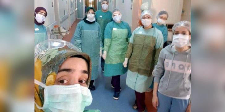 İzmirli asistan doktor Cansu Atmaca Mutlu koronavirüsü yendi, işine döndü