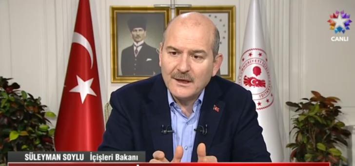 Bakan Soylu'dan canlı yayında önemli açıklamalar