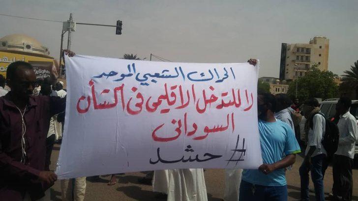 Sudan'da yüzlerce kişi sokağa döküldü: Bize ekmek sağla