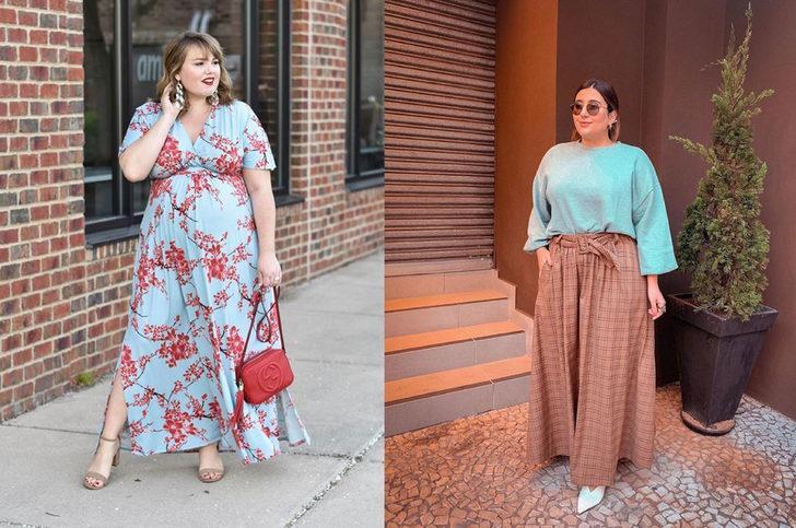 Kilolu kişiler bu şekilde giyinerek fazla kilolarını saklayabilir! İşte öneriler!