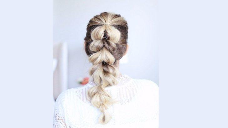 İşte en pratik ve en trend örgü saç modelleri! Sadece 5 dakika...