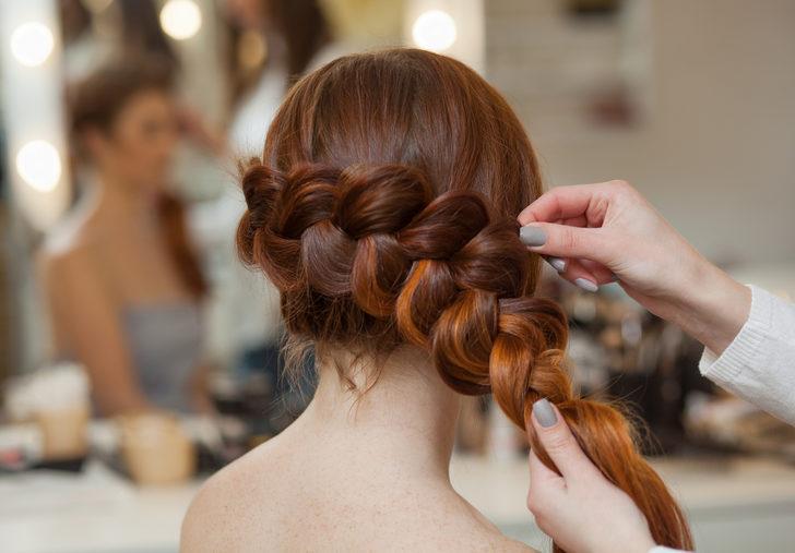 En dar zamanlarda çabucak yapılabilecek birbirinden güzel saç örgü modelleri...