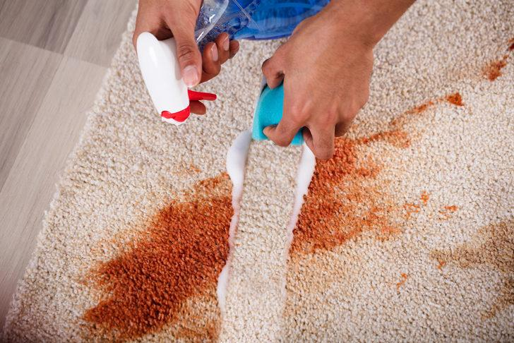 Halıları yanlış temizliyormuşuz! İşte doğru temizleme ve virüsten arındırma yöntemi...