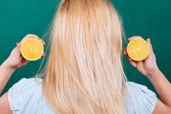 İnanılmaz değişim! Limonu saça sürdüğünüzde...