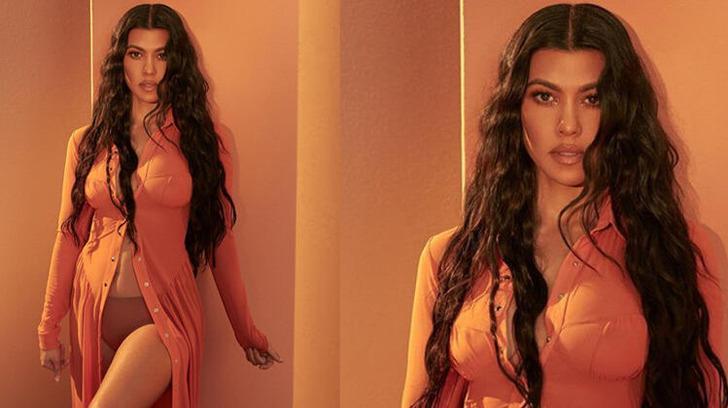 Kourtney Kardashian'ın son paylaşımı olay oldu!' Kıvrımlarım...'