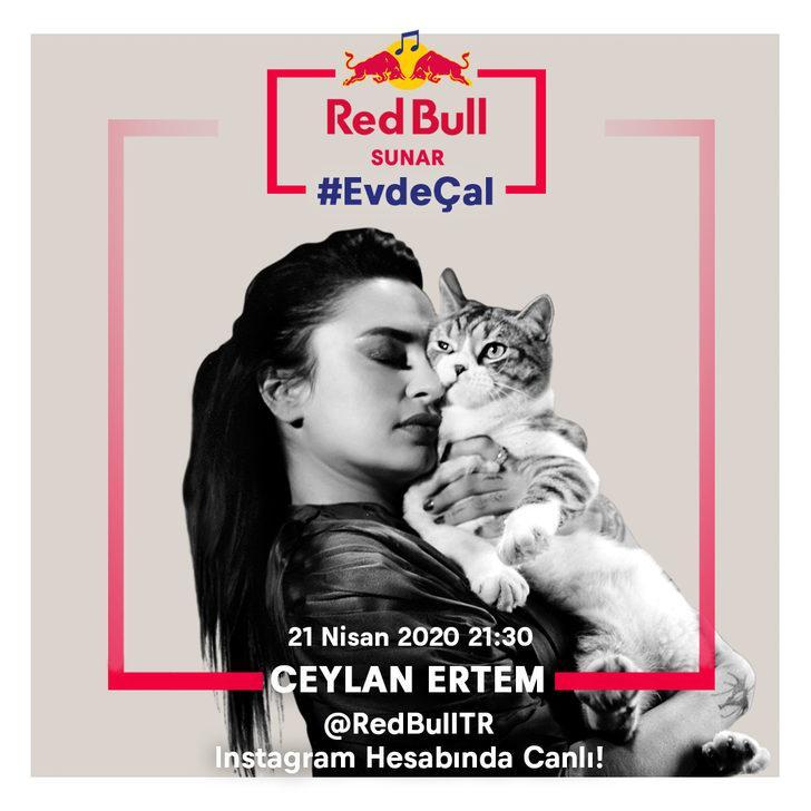 Ceylan Ertem en sevilen şarkılarını Red Bull Sunar: Evde Çal'da seslendirecek