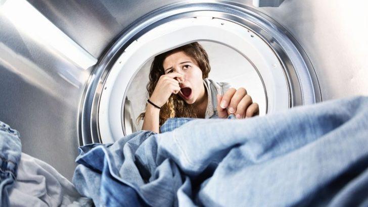Çamaşır makinenizden kötü kokular mı geliyor! İşte çözüm!