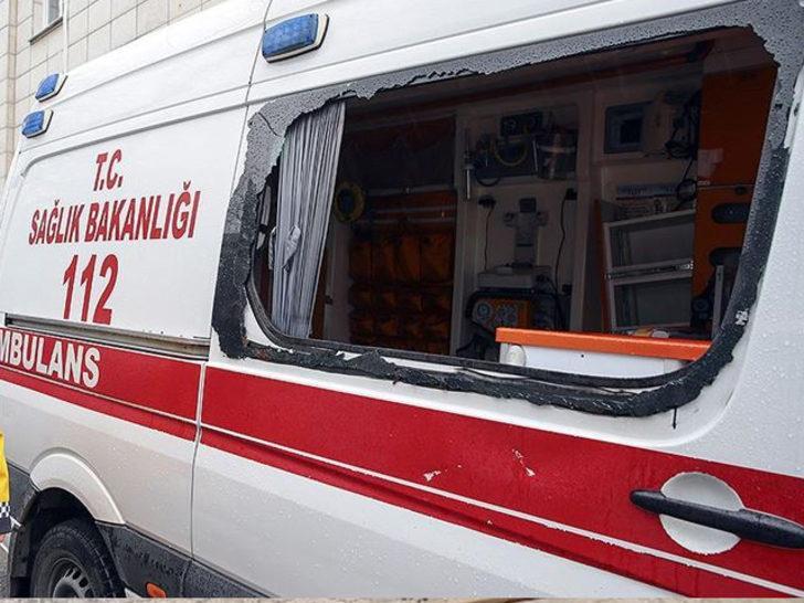 Koronavirüs şüphelisini almaya giden ambulansa saldırmışlardı! İstenen ceza belli oldu