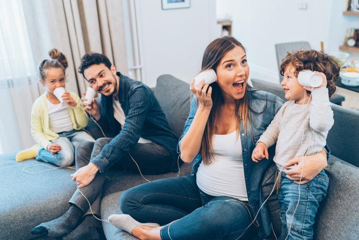Çocuklarla oyun oynamak ebeveynlerin stresini azaltıyor