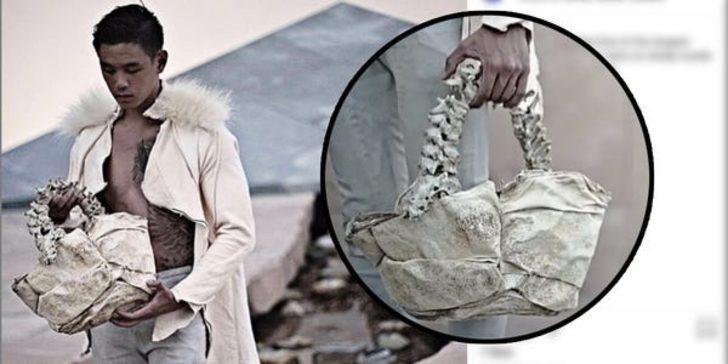 Çocuk omurgasından çanta yapan tasarımcıya tepki yağdı