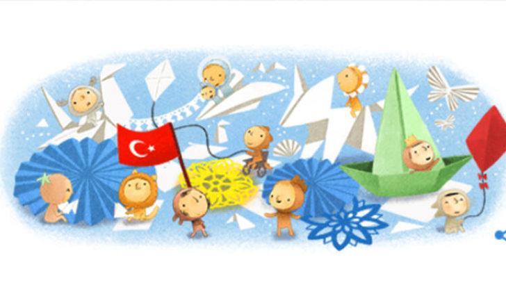Google'dan 23 Nisan'a özel doodle sürprizi