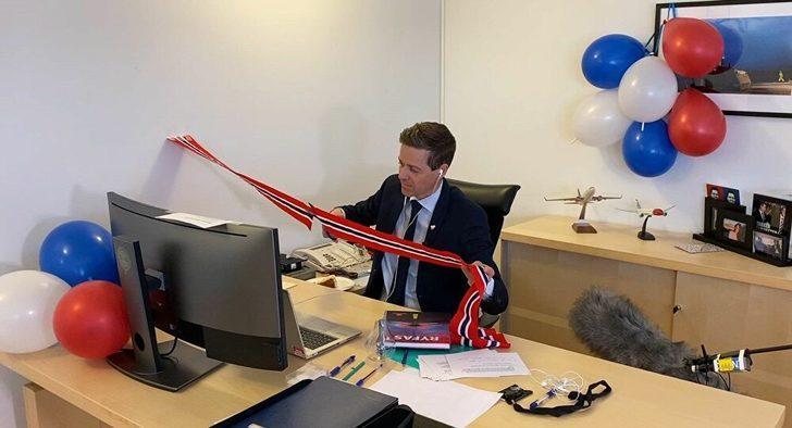 Norveç'te tünel açılışı çevrimiçi törenle gerçekleşti