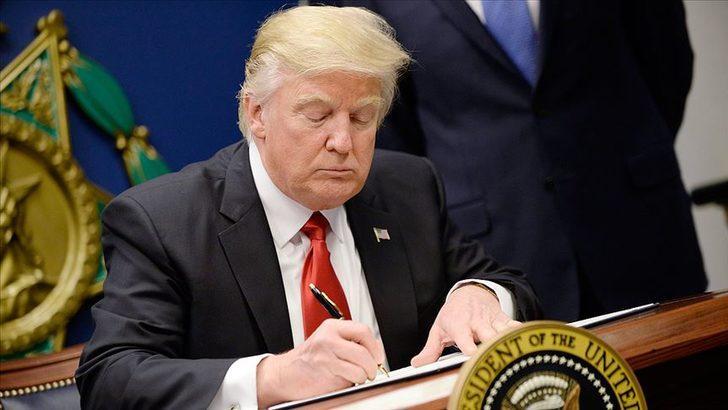 Trump'tan yeni Kovid-19 yardımlarına ilişkin 4 ayrı kararname