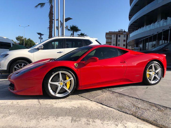 Samsun'da pes dedirten olay! 1.5 milyonluk Ferrari'si olan kişi, 1000 liralık yardıma başvurdu
