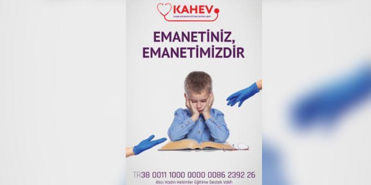 KAHEV koronavirüs nedeniyle hayatını kaybeden sağlık çalışanlarının çocuklarına burs verecek