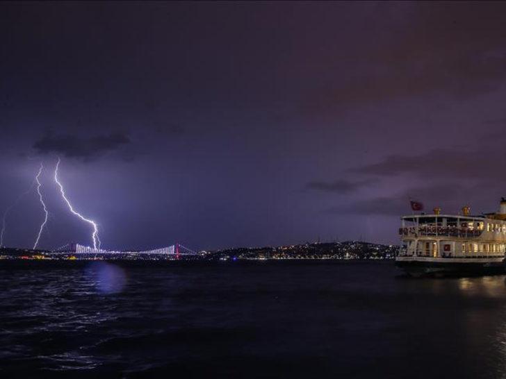 Meteoroloji'den İstanbul için gök gürültülü sağanak yağış uyarısı! (2 Mayıs 2020 hava durumu)