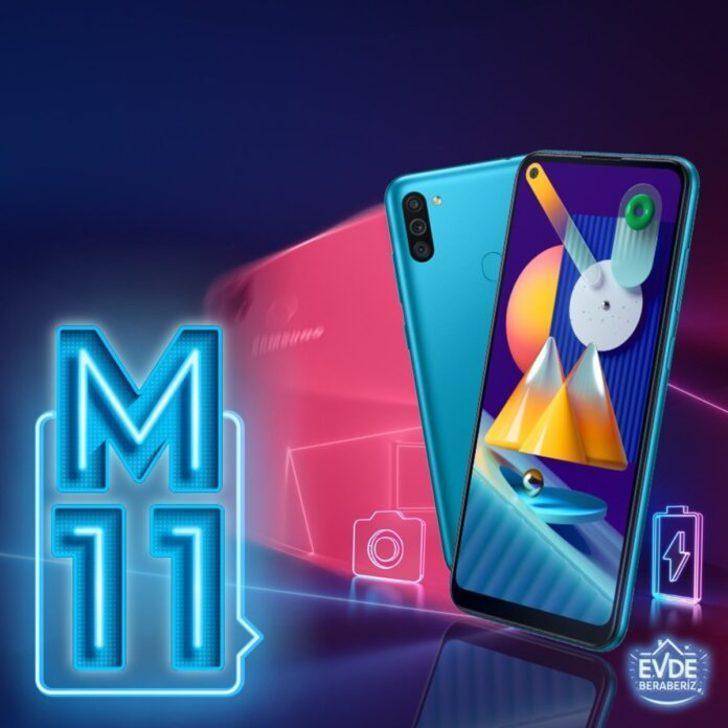 Galaxy M11: 1.000 TL seviyesinde telefon