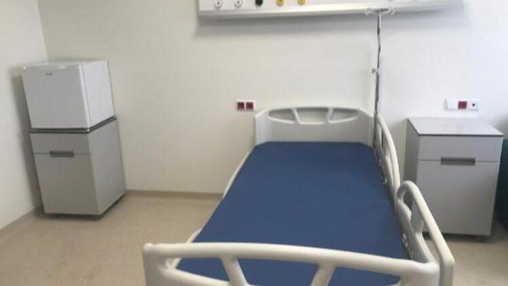 Cumhurbaşkanı Erdoğan açıklamıştı! Sancaktepe'deki hastanenin odaları görüntülendi