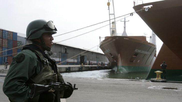 Venezuela'ya Denizden Sızma Girişimi İddiası
