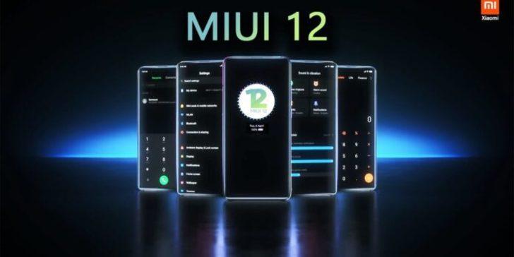 MIUI 12 dünyada dağıtılmaya başlandı