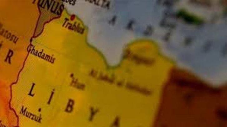 Libya Ordusu hava unsurlarından Hafter milislerine operasyon