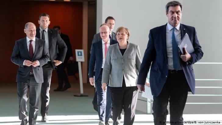 Almanya'dan kısıtlamaların gevşetilmesi kararı