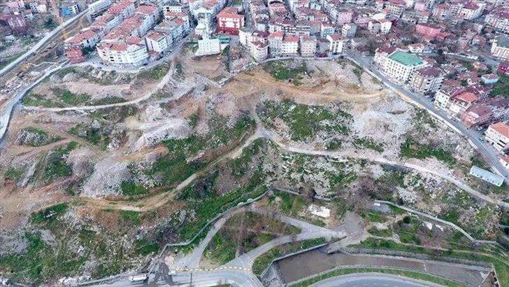Gaziosmanpaşa'da 1500 yıllık su kemeri ortaya çıktı