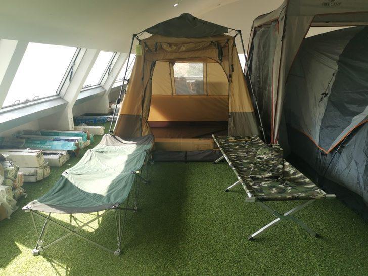 Koronavirüs salgınından sonra kamp çadırlarına talep arttı