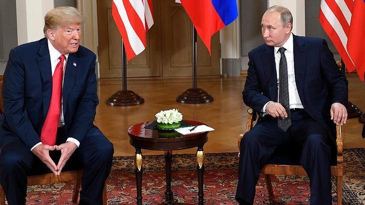 Trump-Putin arasında kritik görüşme