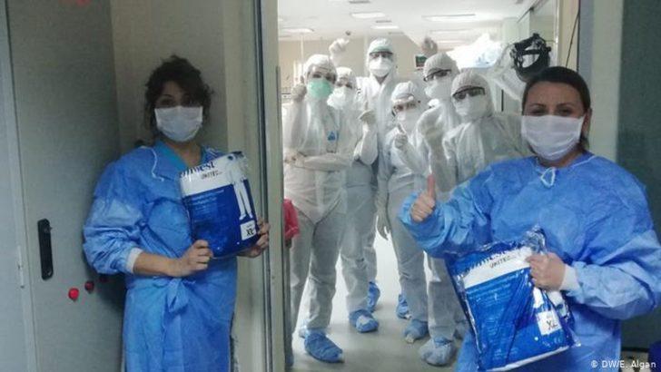 Sağlık çalışanlarının Covid-19 talebi: Meslek hastalığı olsun