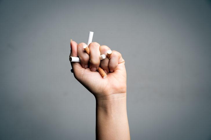 Sigarayı bırakmada 'DEDİ' yöntemi!
