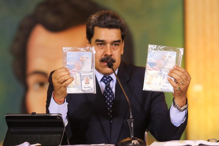 Maduro'dan tarihi ayar: Gücünüz yok!