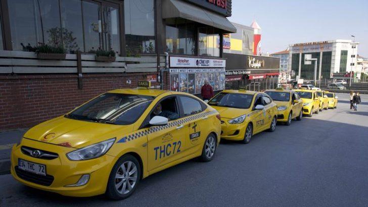 Corona Virüs İstanbullu Taksicileri de Vurdu