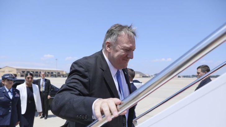 Mike Pompeo'dan Corona Salgını Sırasında İlk Ziyaret İsrail'e