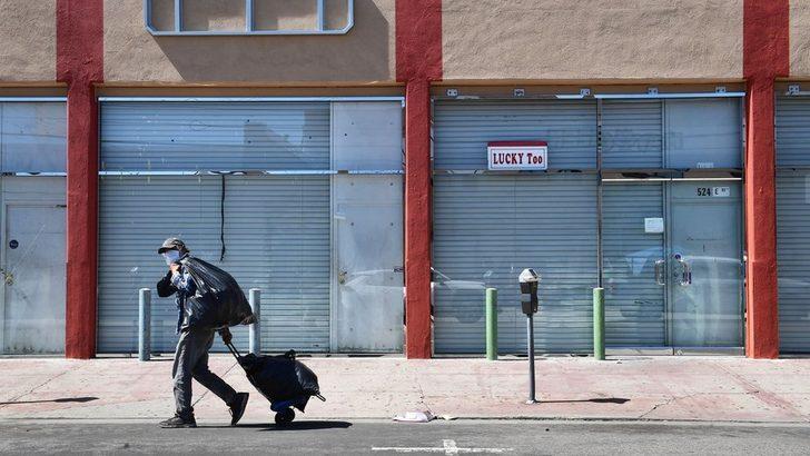 Koronavirüs ve ekonomi: ABD'de işsizlik oranı yüzde 4,4'ten, yüzde 14,7'ye çıktı