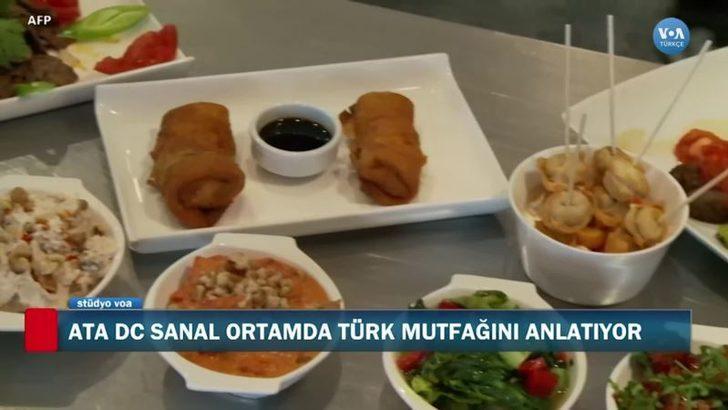 Türk Mutfağı ABD'de Sanal Etkinliklerle Tanıtılıyor