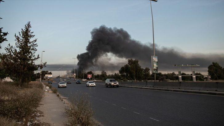 Hafter'den Trablus'a roketli saldırı: Aynı aileden 4 kişi hayatını kaybetti