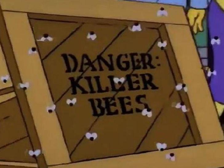 Simpsonlar ile ilgili 'katil arı' iddiası!