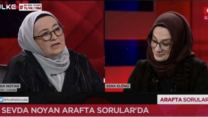 Sevda Noyan'ın Ülke TV'deki sözleri RTÜK gündemine taşınıyor