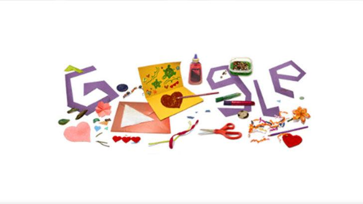 Google'dan annelere sürpriz! Anneler Günü Doodle oldu!