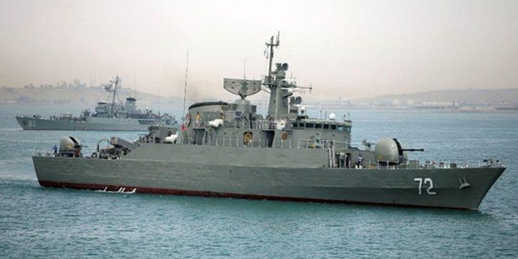 Haberi İran basını verdi! İran donanması kendi gemisini vurdu