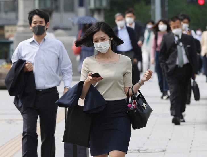 Güney Kore vakalarında yeniden artış