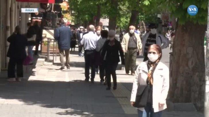 Ankara'da 4 Saatlik Sokak İzniyle Gelen Pazar Mutluluğu